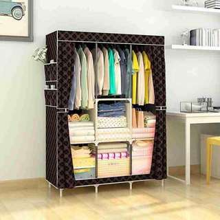DARK Brown Wardrobe Dresser Organizer