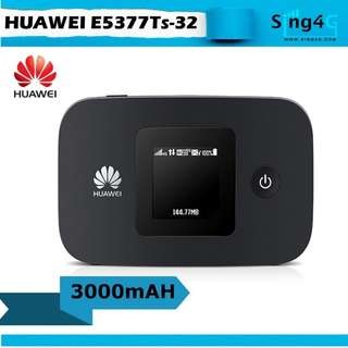 (USED) HUAWEI E5377 12Hr Long Battery 4G MIFI Portable Hotspot
