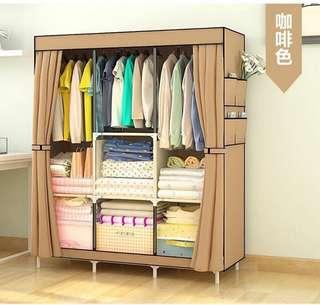 Light Brown Wardrobe Dresser Organizer  699 pesos only!
