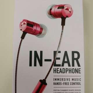 Joyroom IN-EAR headphone 入耳式耳機