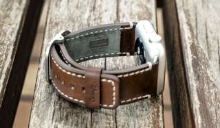 HORWEEN LEATHER APPLE WATCH BAND  皮製錶帶