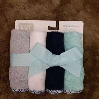 4 Washcloths