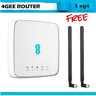 4GEE ROUTER HH70VB 4G CAT 7 Direct SIM 32 WIFI 2 LAN Router