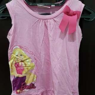Kaos Barbie sz 8