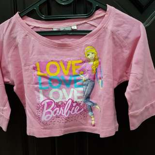 Preloved kaos Barbie