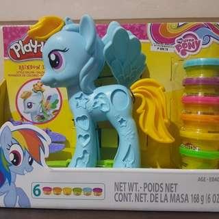 Original Play Doh My Little Pony