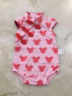 Baby Girl cheung sam Romper