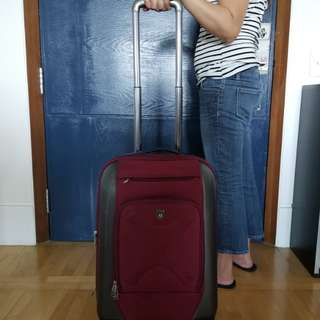 """TPRC 20"""" carry on luggage All direction 4 wheel"""
