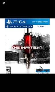 Inpatient PS4 VR