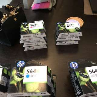 HP printer cartridge 564XL. Total 20 pieces. I have yellow x 4, Cyan x 5, black x3, magenta x 4, photo x4. All in S$100. Pls note expiry date is 2012
