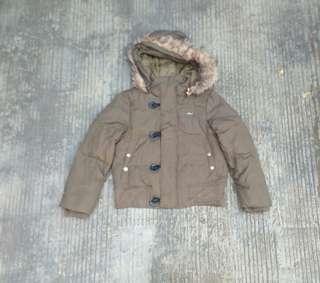 Jaket anak bulu angsa