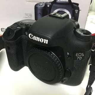 Canon 7D Body Only SC15K