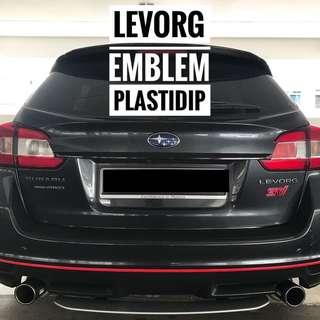 Subaru Levorg Plastidip Service Plasti Dip