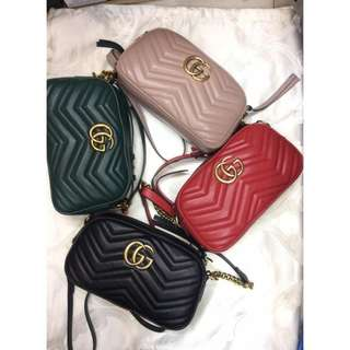 Gucci Marmont Mini Quilted Leather