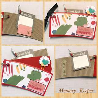 SALE ! Handmade Mini Album - Favorite Memories
