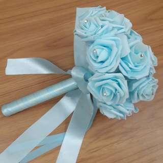 Flower hand bouquet for wedding