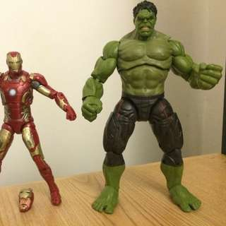 Marvel legends age of ultron hulk thanos baf