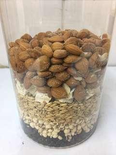 去濕健脾紅豆薏米粉(1磅)即磨營養粉-推廣價-沖人氣