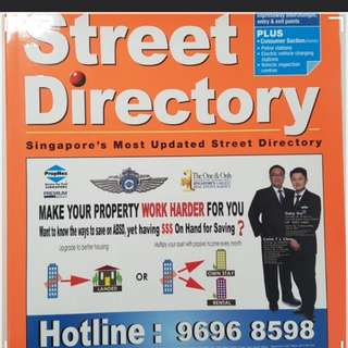 Latest 2018 edition street directory mighty minds