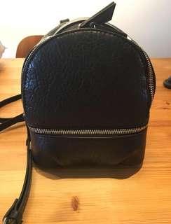 Zara mini backpack/sling bag