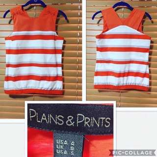 Plains and Prints Small New