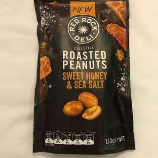 Australia Red Rock Deli Roasted Peanuts 蜜糖海鹽花生Red Rock Deli 130g