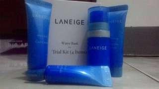 Laneige water bank trial kit set