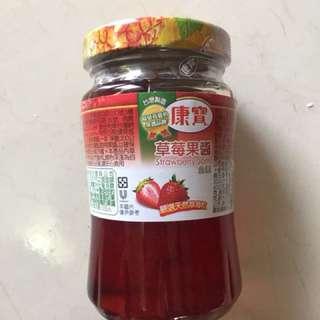 康寶草莓果醬200克