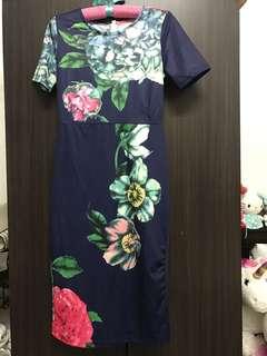 Semi-Formal Floral Dress (Last One)