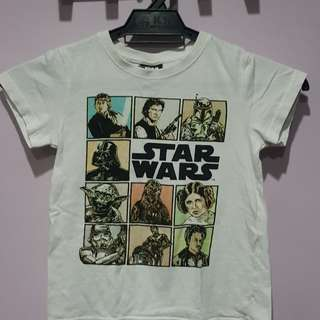 Limited Edition Starwars T-Shirt Size 4