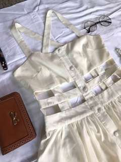 Dirty White dress