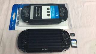 For Sale: PS Vita Phat with 2 games, Accessories, Charger