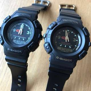 Vintage 90's G-SHOCK AW-560 ($990 for 2, no bargain)