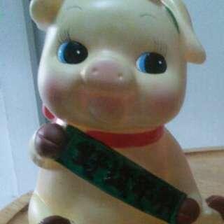 Piggy bank collectible