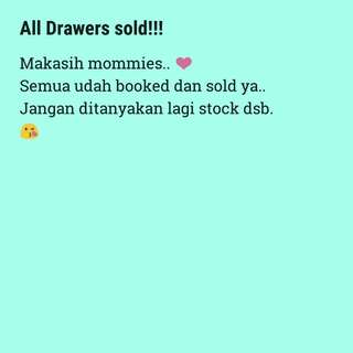 Drawers ikea all sold