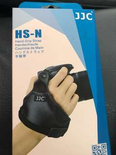 JJC HS-N Hang Grip Strap Genuine Leather