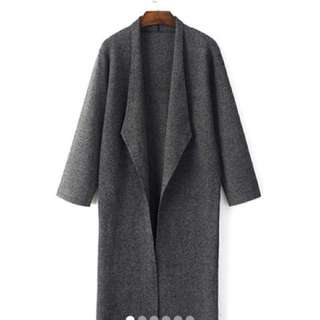 Longline Knitted Duster