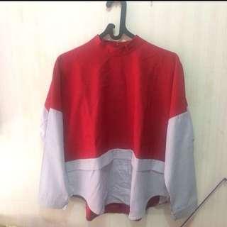 Red yuan shirtl