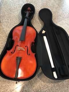 Full size 4/4 Synwin Cello