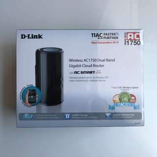 D-Link Wireless AC1750 Router (DIR-868L)