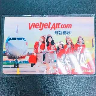 越捷航空 特製版悠遊卡