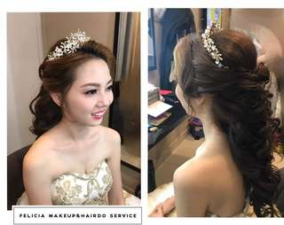 Felicia Makeup & Hairdo
