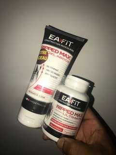 Eatfit combo gel and fat burner ripped