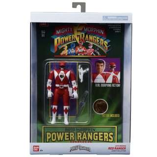 Mass Order: Bandai Mighty Morphin Power Rangers - Auto Morphin Legacy Collection - Red Ranger (Jason)