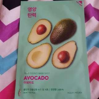 Holika Holika Pure Essence Mask Sheet (Avocado)