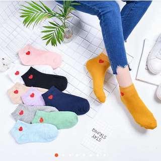 #1 Hearts Ulzzang Socks