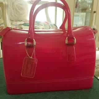 Furla Candy Bag in pink