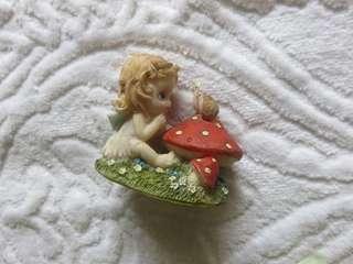 Angel Fairy Snail Figurine