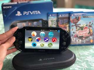 [REPRICED] PS Vita Slim with Free Games