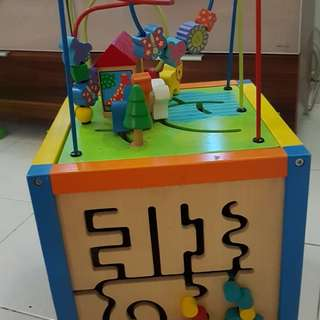 Wooden Toys Cube